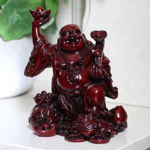 Bilde av Buddha 17cm Red Chinese