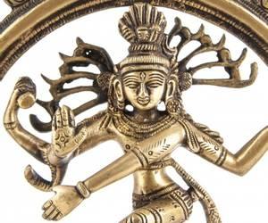 Bilde av Shiva 24 cm Brass