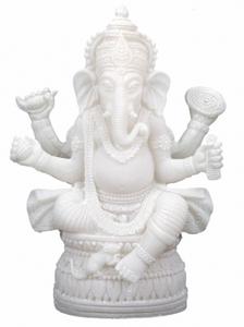 Bilde av Ganesha statue hvit -