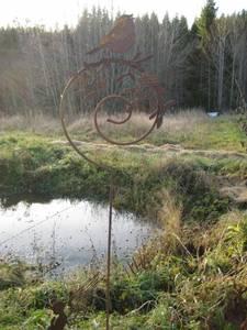 Bilde av Fugl med Misteltein i rustet
