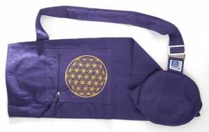 Bilde av Yoga bag med Livets Blomst