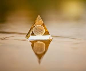 Bilde av Flower of life sphere crystal