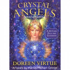 Bilde av Crystal Angels Oracle Cards