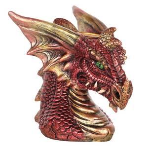 Bilde av Small Red Dragon Head