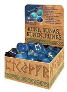 Bilde av Runer - Blå Onyks - Blue Onyx