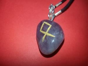 Bilde av Runesmykke Ametyst - Odal