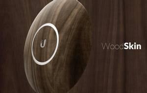 Bilde av UBNT case for UAP nanoHD, Wood Design, 3-Pack
