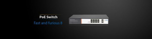 Bilde av MWPS1082G/ 8+2 Full Gigabit Unmanaged PoE Switch