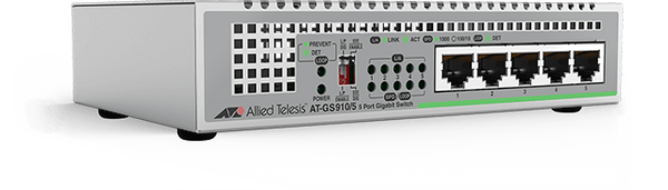 AT-GS910/5E Gigabit Ethernet Unmanaged Switch