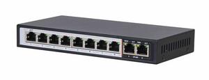 Bilde av Extralink Perses, 8-ports Gigabit PoE/PoE+, 2x