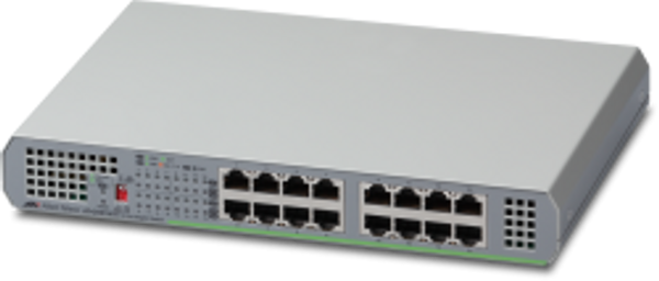AT-GS910/16-50 Gigabit Ethernet Unmanaged Switch