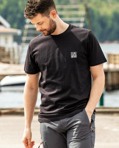 Bilde av Fridtjof Nansen Klassisk T-skjorte - Antrasitt