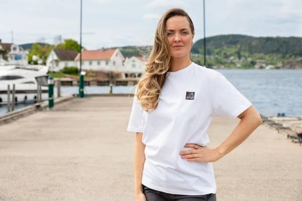 Bilde av Fridtjof Nansen Klassisk T-skjorte - Hvit