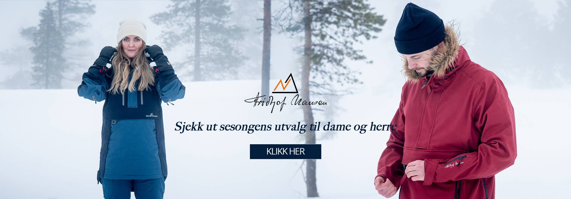 Vinter dame og herre, sesongens utvalg