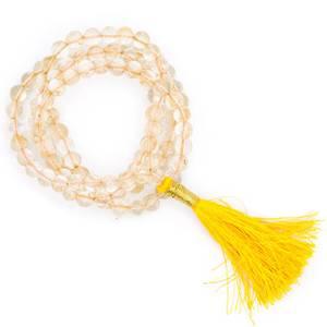 Bilde av Mala Kjede Citrin AA quality 108 beads