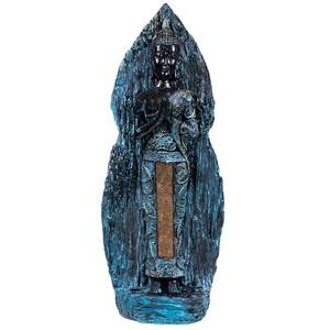 Bilde av  Standing Buddha antique finish Thailand 31cm