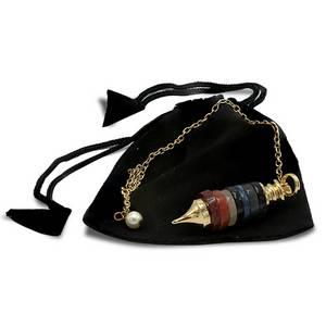 Bilde av Pendel Chakra /Pendulum with gemstone Chakra