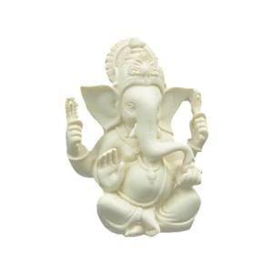 Bilde av Ganesh figur / Ganesh statue white