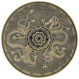 Bilde av Incense burner Dragons bronze colour
