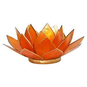 Bilde av Lotus  Telysholder Oransje - Chakra 2