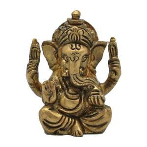 Bilde av Ganesh figur - brass miniature