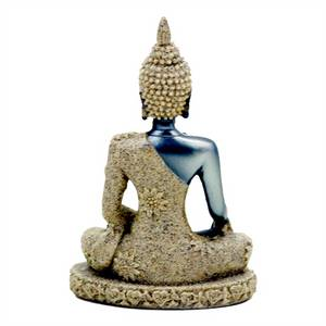 Bilde av Buddha statue av sand - Buddha figur