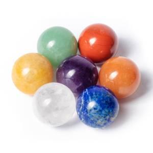 Bilde av Feng shui 7 chakra gemstone spheres