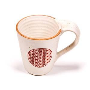 Bilde av Tea and coffee mug Flower of Life
