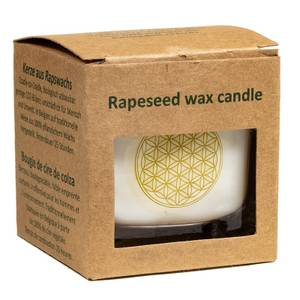 Bilde av Rapeseed wax scented candle Flower of life