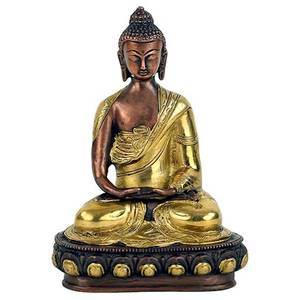 Bilde av Buddha Amitabha statue two-coloured