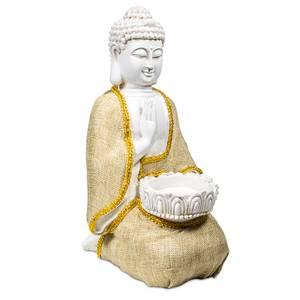 Bilde av Peace Buddha with tea-light holder