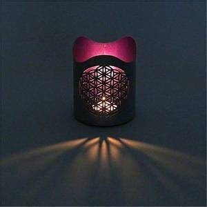 Bilde av Atmospheric lighting Flower of life 10x12 cm