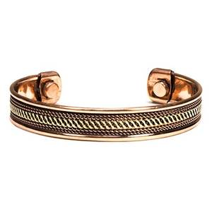 Bilde av Bracelet copper magnetic set of 2