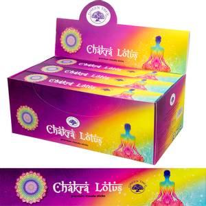 Bilde av Green Tree - Chakra Lotus - Masala Incense Sticks