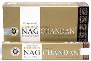 Bilde av Golden Nag Chandan Sandalwood Masala Incense