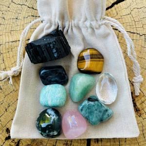 Bilde av Anxiety Crystal Set, Calming crystal collection