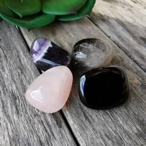 Bilde av House Protection Gemstones Crystal Gift Set 4
