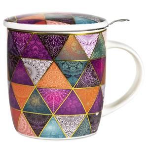 Bilde av Gift box Tea Infuser Mug Patchwork