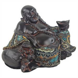 Bilde av  Lykke og Velstands Buddha - Buddhafigurer 21cm
