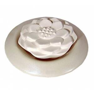 Bilde av Sten diffusorer Lotus aroma stein hvit