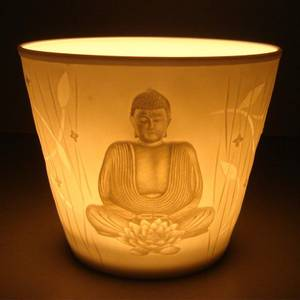 Bilde av Atmospheric lighting votive Buddha