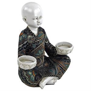Bilde av Little Monk wth 2 tealight holders