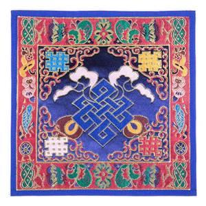 Bilde av Tibetan cloth with knot of infinity - Brocade