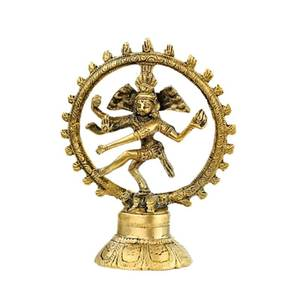 Bilde av Shiva Nataraj brass monochrome 20cm