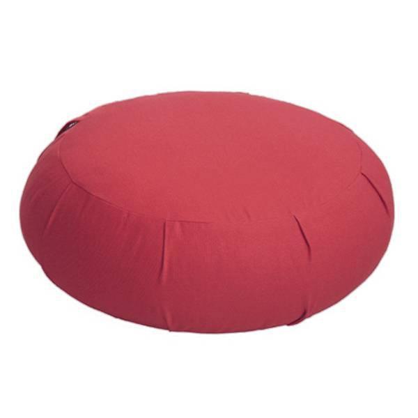 Zafu meditasjonspute - Meditation cushion ruby coloured