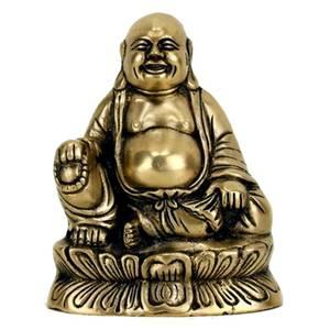 Bilde av Buddha statue Laughing Maitreya