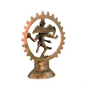Bilde av Shiva Nataraj brass two-colour 15cm