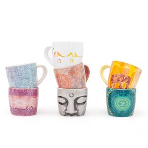 Bilde av Krus/ YogiMug Ceramic Mug Happy Namaskar