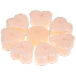 Bilde av Heart shaped candles stearin jasmin