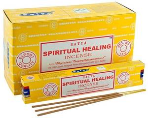 Bilde av Satya Spiritual Healing Incense - 15 Gram Pack